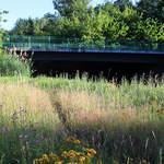 Die Saspower Spreebrücke.