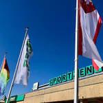 Das Sportzentrum in Cottbus beheimatet neben Sportschule mit Internat und Olympiastützpunkt eine Vielzahl an sportbezogenen Einrichtungen.
