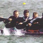 Kanu als Leistungssport und Wettbewerb – Männer 4er